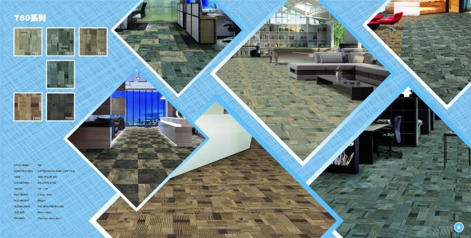 50 Cm X 50 Cm Size Nylon Carpet Tiles Tufted Multi -office floor carpet tiles