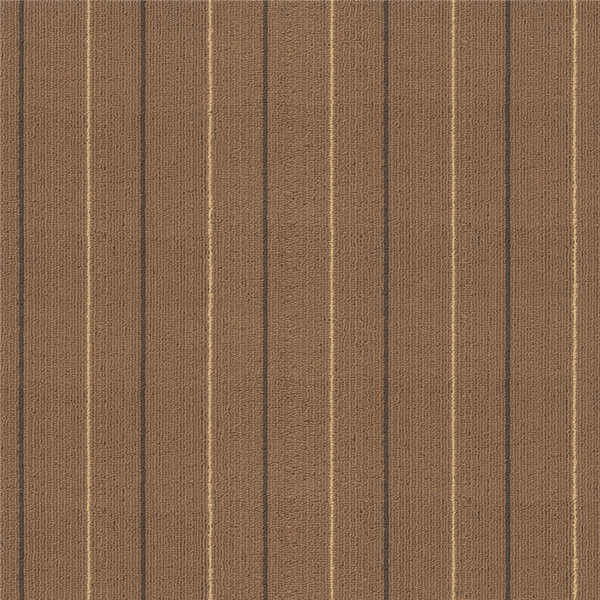 Brown Environmentally Friendly Carpet Tiles Industrial Grade Carpet Squares