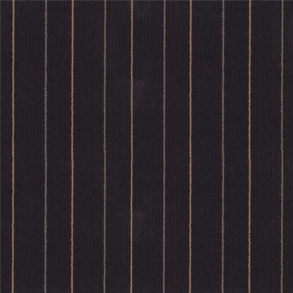 Beautiful Stripe Pattern Bitumen Backed Carpet Tiles Residential Modular Carpet