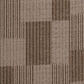 China Commercial Sirius PP Carpet Tile 650g/M2 Pile Weight With 50 Cm X 50 Cm Size distributor