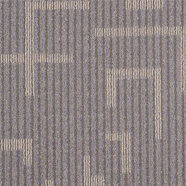 China 3.5 - 4mm Pile Height PP Carpet Tile 100% Bcf PP Yarn Type For Project distributor