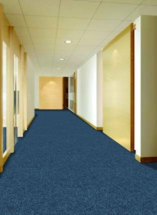 Hotel PP Carpet Tile Bathroom Carpet Tiles / Natural Carpet Tiles Bright Color
