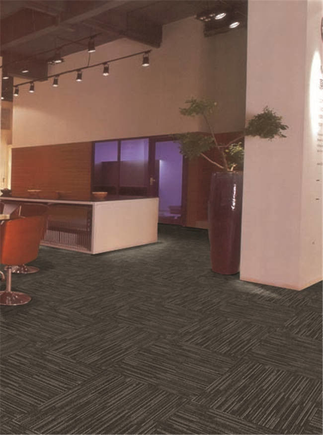 Professional Industrial PP Carpet Tile Hard Wearing Carpet Personalized Pattern