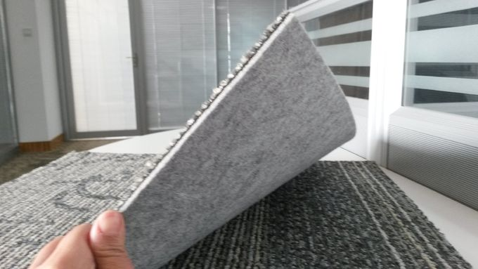 loop pile carpet tiles for office or other indoor spaces PP material with Cushion